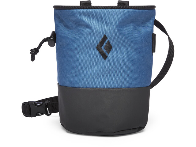 Black Diamond Mojo Zip Chalk Bag Astral Blue/Slate
